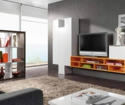 large space TV units