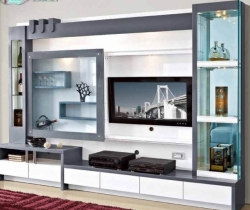 mirror cupboard TV units
