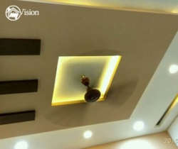 p o p design in ceiling photo