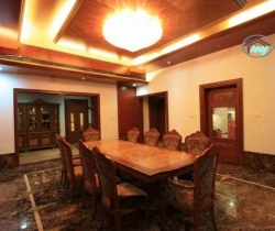 bigger imposing dining room