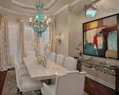 dining rooms with lamp