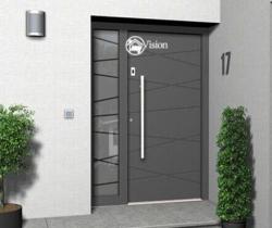 new model main door