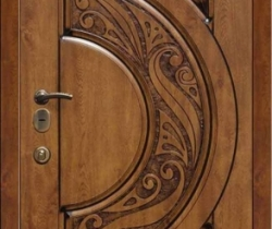 wood front entry doors