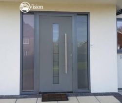 wooden front doors with glass my vision