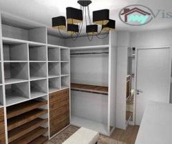 modern dressing room