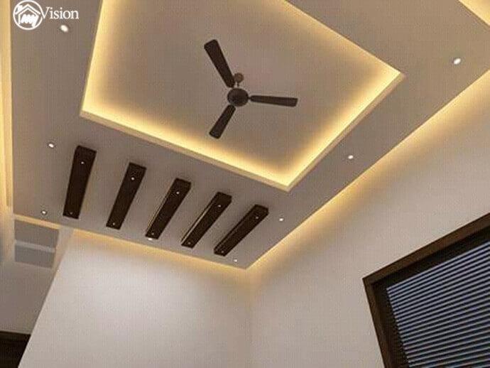 False Ceiling Designs In Hyderabad Gypsum Pop Fiber