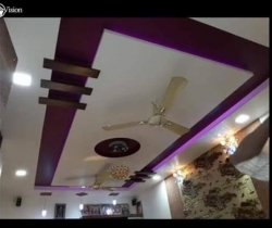 ceiling pop design small hall
