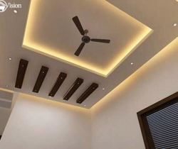 false ceiling colour combination