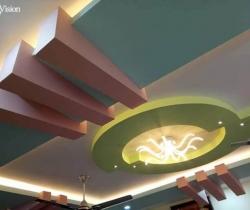 pop gypsum false ceiling