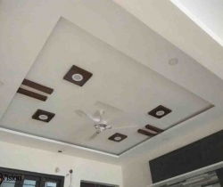 white wood false ceiling designers hyderabad my vision interiors