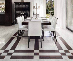flooring with slate tails