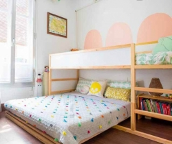Contemporary Neutral kids room