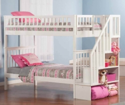 kids room beds designed with stairs