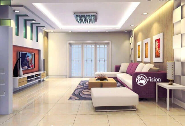 Living Rooms Interior Designers in Hyderabad - My Vision ...