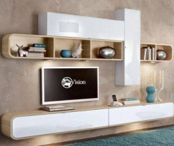 modern wall mounted tv unit  images