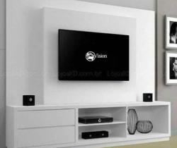 tv unit design my vision